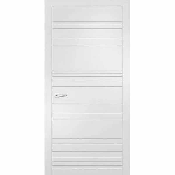Дверь межкомнатная Севилья-20 Софт айс, глухое, 80 см.