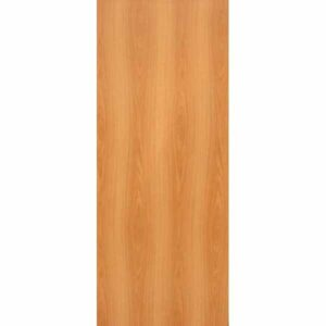 Дверь межкомнатная Миланский орех, глухое гладкое, 60 см.