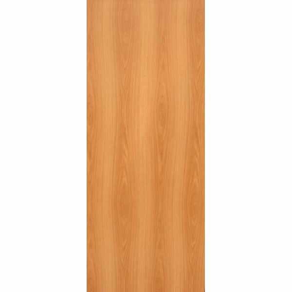 Дверь межкомнатная Миланский орех, глухое гладкое, 80 см.