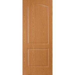 Дверь межкомнатная Палитра дуб светлый, глухое, 70 см.