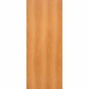 Дверь межкомнатная Миланский орех, глухое гладкое, 90 см.