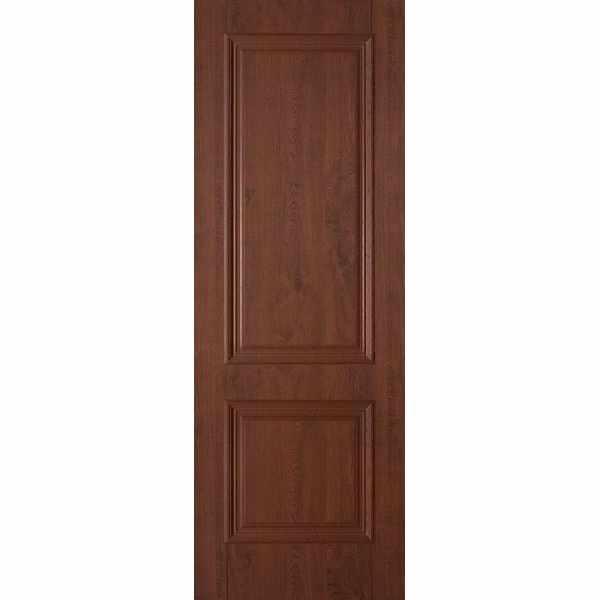 Дверь межкомнатная Дуэт пленка ПВХ Орех темный, глухое, 70 см.