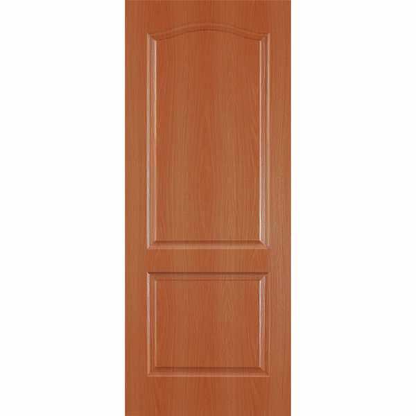 Дверь межкомнатная Палитра миланский орех, глухое, 60 см.