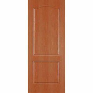 Дверь межкомнатная Палитра миланский орех, глухое, 80 см.