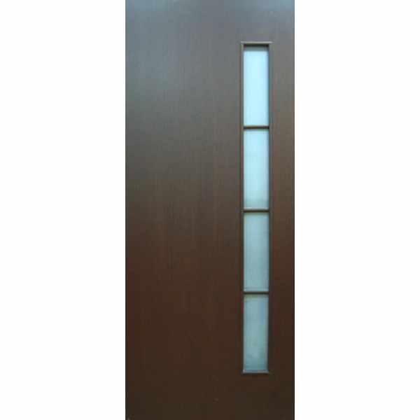 Дверь межкомнатная С-14 Венге, остекленное, 60 см.