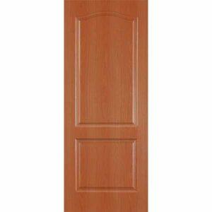 Дверь межкомнатная Палитра миланский орех, глухое, 90 см.