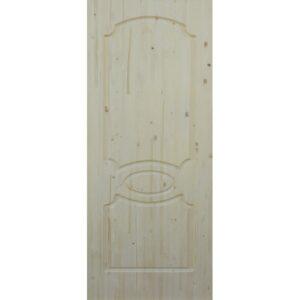 Дверь межкомнатная Классика массив сосны, глухое, 70 см.