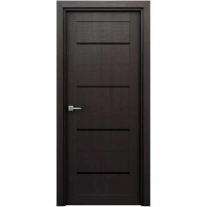 Дверь межкомнатная Орион Венге, с декоративными элементами, 60 см.
