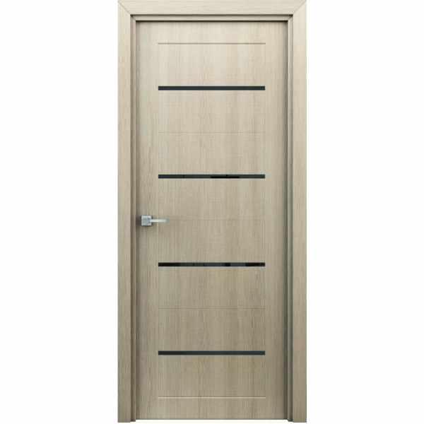 Дверь межкомнатная Орион Капучино, с декоративными элементами, 60 см.