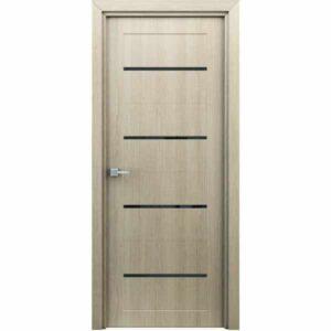 Дверь межкомнатная Орион Капучино, с декоративными элементами, 80 см.