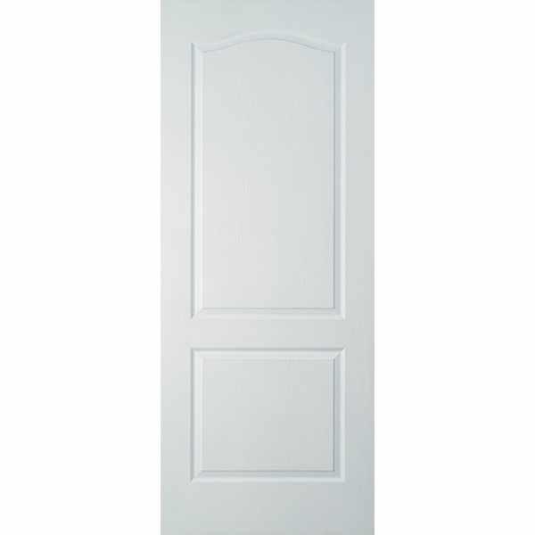 Дверь межкомнатная Палитра белая, глухое, 80 см.
