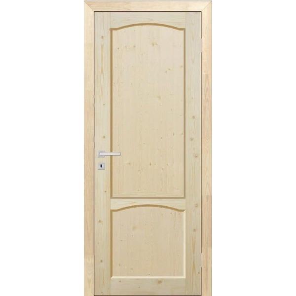Дверь межкомнатная ДФЩ массив сосны, глухое, 60 см.