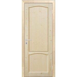 Дверь межкомнатная ДФЩ массив сосны, глухое, 80 см.