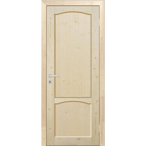 Дверь межкомнатная ДФЩ массив сосны, глухое, 90 см.