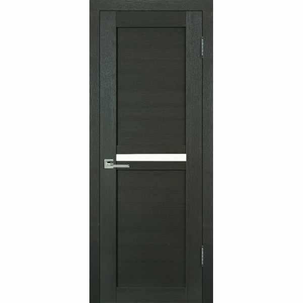 Дверь межкомнатная Муза экошпон Венге, глухое, 80 см.