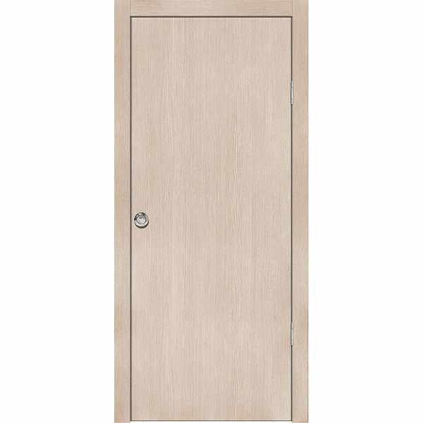 Дверь межкомнатная Лиственница кремовая, глухое, 60 см.