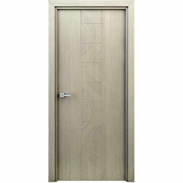 Дверь межкомнатная Сатурн Капучино, глухое, 60 см.