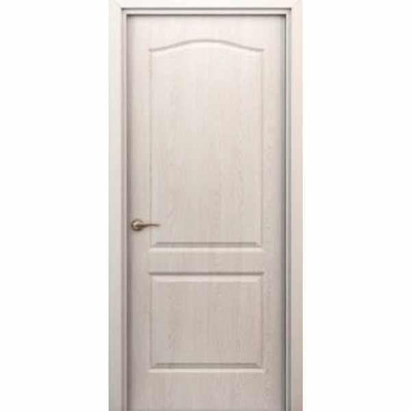 Дверь межкомнатная Палитра беленый дуб, глухое, 80 см.