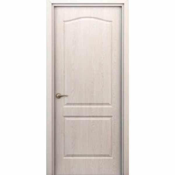 Дверь межкомнатная Палитра беленый дуб, глухое, 90 см.