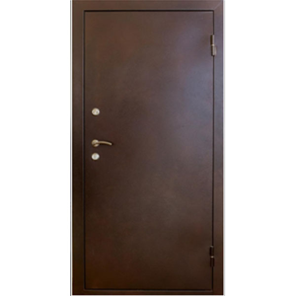 Утепленная дверь с терморазрывом Юпитер-2 960х2050 мм.