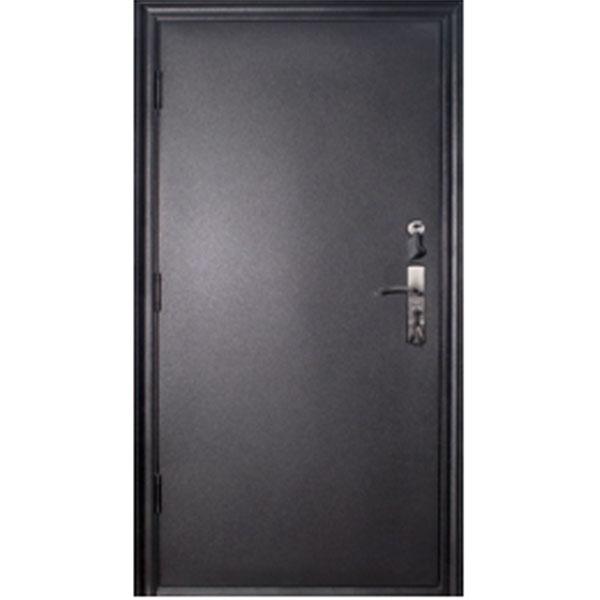 Дверь Уран 860х2050 мм., толщина полотна 70 мм., внешняя отделка оцинкованный лист 1,2 мм.