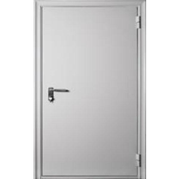 Противопожарная дверь ДМП-EI-60 860х2050 мм. со стеклом 300х400 мм., 400х200 мм., 200х700 мм.