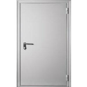 Противопожарная дверь ДМП-EI-60 960х2050 мм. со стеклом 300х400 мм., 400х200 мм., 200х700 мм.