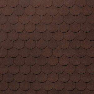 Гибкая черепица Tegola Nobil Tile Ворона коричневый