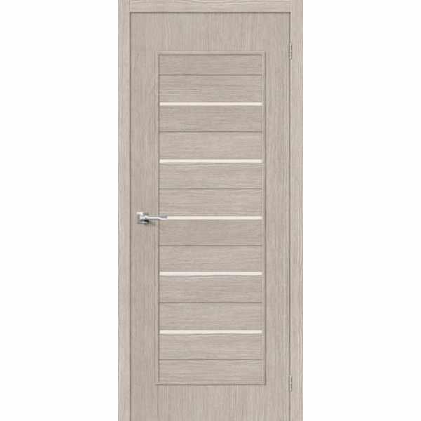 Дверь межкомнатная Тренд-22 Капучино, остекленное, 60 см.