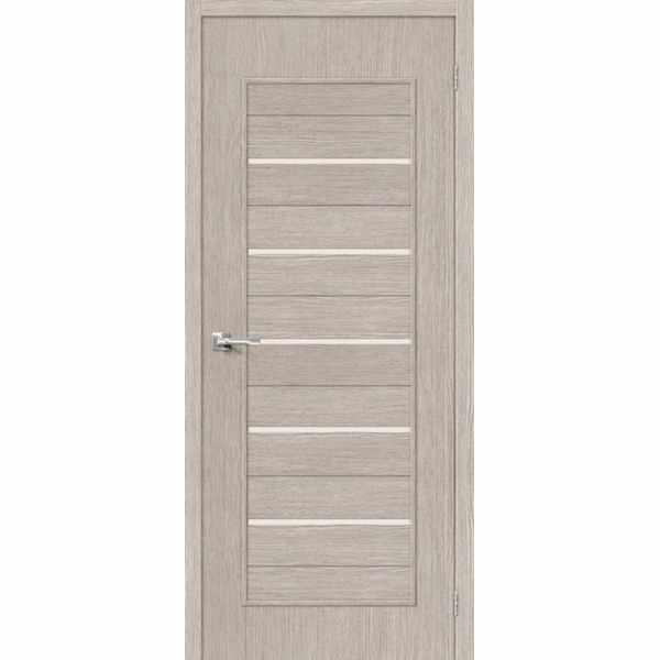 Дверь межкомнатная Тренд-22 Капучино, остекленное, 80 см.