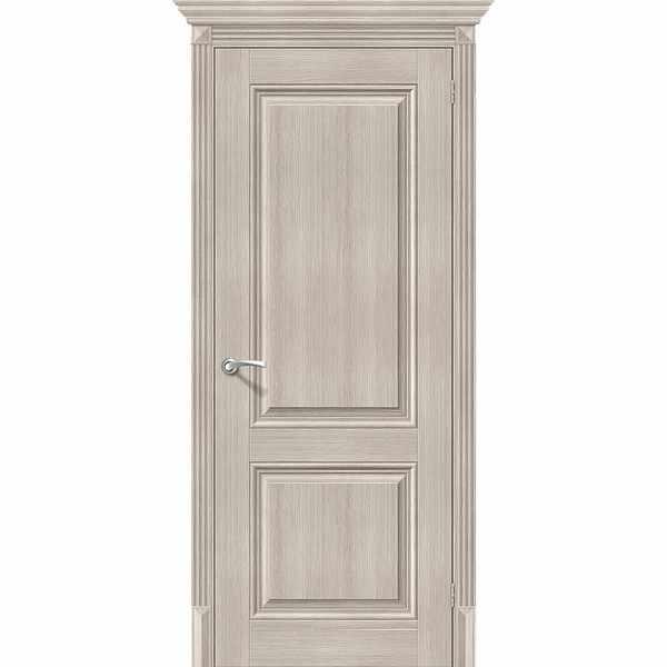 Дверь межкомнатная Классико-32 экошпон Капучино вералинга, глухое, 80 см.